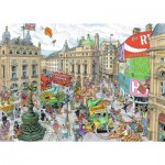 Puzzle  Ravensburger-19213 London