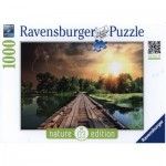 Puzzle  Ravensburger-19538 Nature Edition N°3: Mystisches Licht