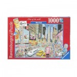 Puzzle  Ravensburger-19787 Fleroux - New York