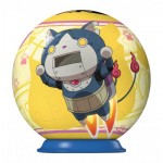 Ravensburger-79936-11922-01 3D Puzzle-Ball - Yo-Kai Watch