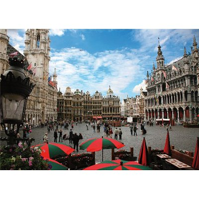 Puzzle Dtoys-64288 Belgien: Grand Place, Brüssel