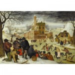Puzzle  DToys-66947-BR04 Brueghel: Winter