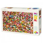 Puzzle  Dtoys-71958-HD02 High Difficulty - Bonbons