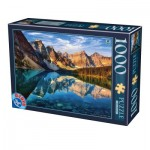 Puzzle  Dtoys-75765 Moraine Lake, Kanada