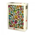 Dtoys-76014 Pattern Puzzle