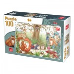 Puzzle   Waldtiere
