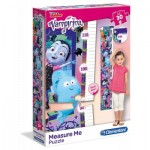 Clementoni-20323 Puzzle Measure Me - Disney Junior - Vampirina