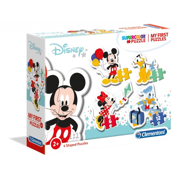 My First Puzzle - Disney Baby (4 Puzzles)