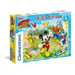 Puzzle  Clementoni-26433 XXL Teile - Mickey and the Roaster Racers