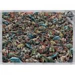Clementoni-39470 Impossible Puzzle - Jurassic World