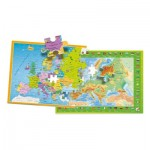 Puzzle   Europa Mappe