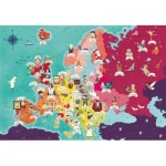 Puzzle   Exploring Maps : Europe - Monuments + People