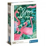 Puzzle   Flamingoes