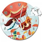 Puzzle Clock - Air Balloon