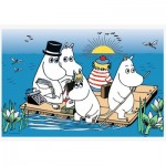 Puzzle   Moomins at the lake