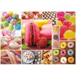 Puzzle  Trefl-10469 Candy Collage