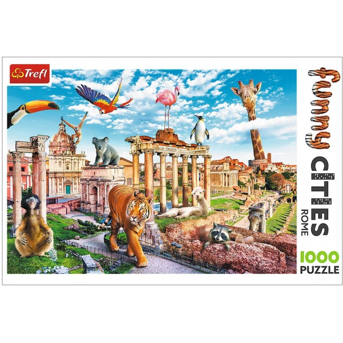 Funny Cities - Rome