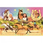 Puzzle  Trefl-15370 Dreamworks - Spirit Riding Free