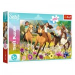 Puzzle  Trefl-16362 Dreamworks - Spirit Riding Free