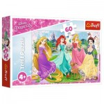 Puzzle  Trefl-17347 Disney Princess
