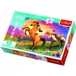 Puzzle  Trefl-18250 Dreamworks - Spirit Riding Free
