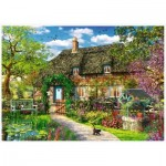 Puzzle  Trefl-27122 Country Cottage