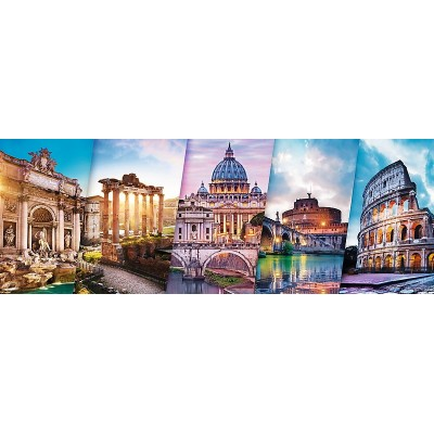 Puzzle Trefl-29505 Collage - Rom