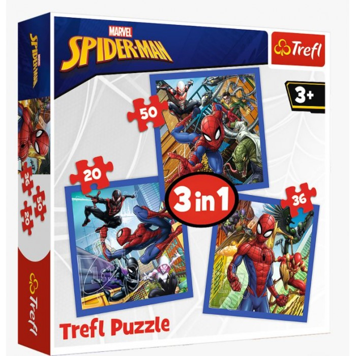 3 in 1 - Spider Force