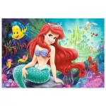 Trefl-36513 Color Puzzle - Disney Princess