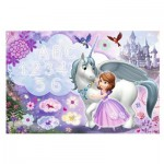 Trefl-75113 Sofia the First - Puzzle + Magic Marker