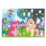 Trefl-75116 My Little Pony - Puzzle + Stickers