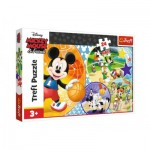 Puzzle   XXL Teile - Mickey Mouse and Friends
