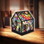 3D Puzzle - House Lantern - Cheerful Elephants