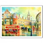 Pintoo-H1996 Puzzle aus Kunststoff - Ken Shotwell - Morning in London