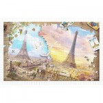 Pintoo-H2287 Puzzle in Puzzle - The Magnificent Eiffel Tower