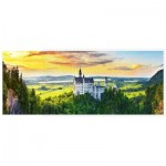 Puzzle  Pintoo-H2318 Sunset of Neuschwanstein Castle, Germany