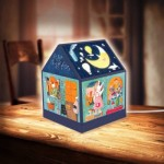 Puzzle  Pintoo-R1002 3D House Lantern - Nan Jun - Bear Coffee
