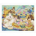 Puzzle aus Kunststoff - Cotton Lion - Merry-Go-Round