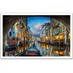 Puzzle aus Kunststoff - Evgeny Lushpin - Love is in the Air