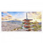 Puzzle aus Kunststoff - Fuji Sengen Shrine, Japan