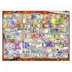 Puzzle aus Kunststoff - Garry Walton - Currency of the World