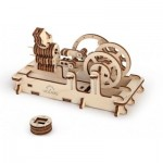 Ugears-12012 3D Holzpuzzle - Pneumatic Engine