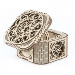 Ugears-12059 3D Holzpuzzle - Treasure Box