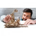 Ugears-12060 3D Holzpuzzle - Rail Mounted Manipulator