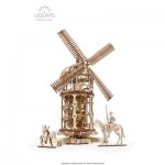 Ugears-12084 3D Holzpuzzle - Tower Windmill