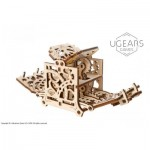 Ugears-12093 3D Holzpuzzle - Dice Keeper