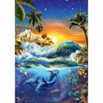 Puzzle  Art-Puzzle-4428 Hawaiian Dawn