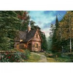 Puzzle  Art-Puzzle-4621 Dominic Davison: Woodland Cottage