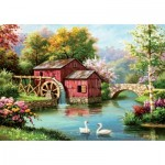 Puzzle  Art-Puzzle-5188 Red Old Mill