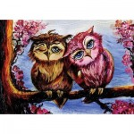 Puzzle  Art-Puzzle-5211 Owls in Love